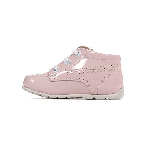 KICKERS KICK HI Baby Patent Kleinkind Kleinkind Kinder Schuh pink