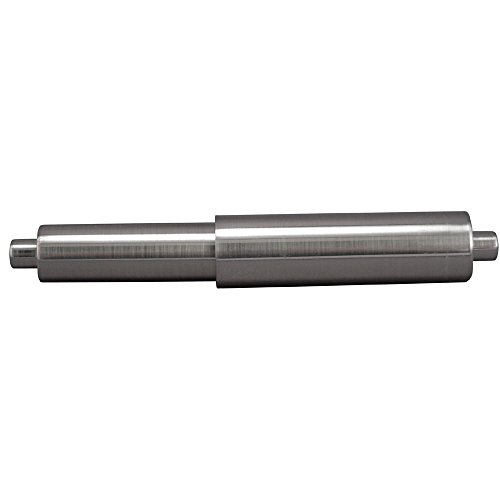 L Universal Spring Loaded Toilet Paper Roller, Brushed Nickel ()