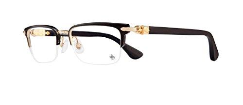 Chrome Hearts - Sugar Walls - Eyeglasses (Plastic) (Matte Black/Gold Plated-Black-Plastic, Clear) (Chrome Hearts Brillen)