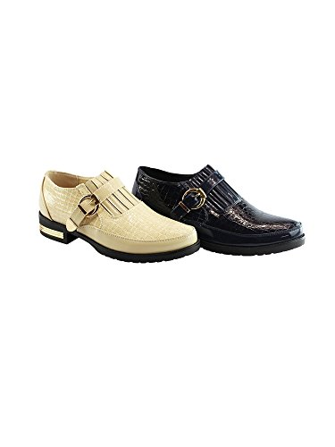 Strap Blue Snake Adult Women Liyu Shoes Oxford Buckled 11 6 Skin Pattern gnxSHx