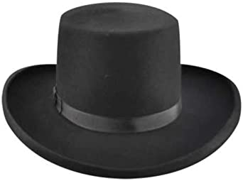 4162 Bailey Mens Western Dillinger Flat Top Hat