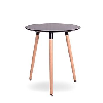Esstisch rund design  Esstisch Esszimmertisch Retro Küchentisch Design Holz Tisch ...