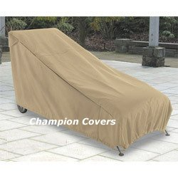 Amazing Champion Patio Chaise Lounge Cover Taupe