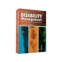 Disability Management – Theory, Strategy and Industry Practice,