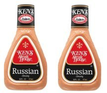 Russian Dressing - Ken's Steakhouse Dressing, Russian, 16 Fl Oz 2 Packs