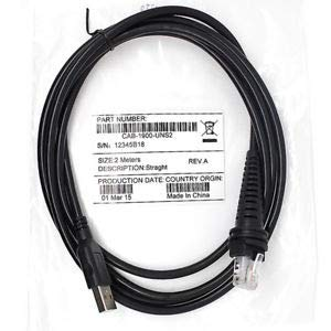 Printer Parts Metrologic MX009 Universal USB Converter Cable for Motorola Symbol MS9520 MS9540 MS7120 ()