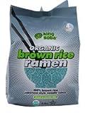King Soba Organic Brown Rice Ramen Noodles -- 9.8 oz