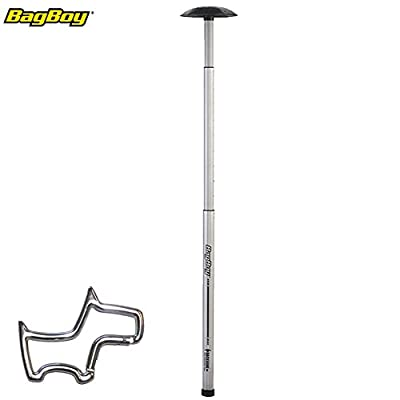 BagBoy Backbone Travel Cover Support Arm System Stiff Bone with Towel Ring OR TSA Lock. Please pick your option