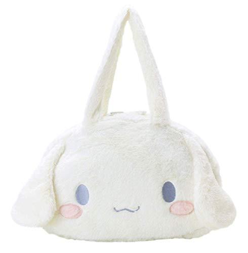 GK-O Cinnamoroll Fur Face Ita Bag Tote Bag Handbag Travel Carry Bag Yurukawa Cosplay Costume
