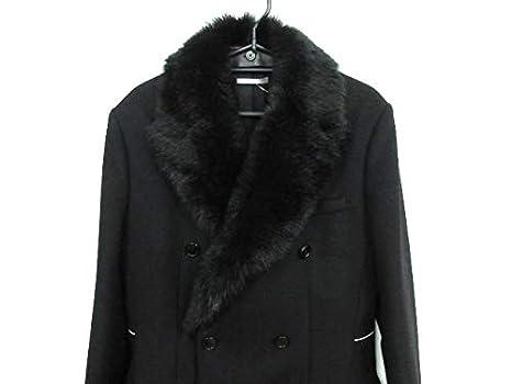 promo code 8f6db 498dd Amazon | (ディオール・オム)DIOR HOMME コート メンズ 黒 ...