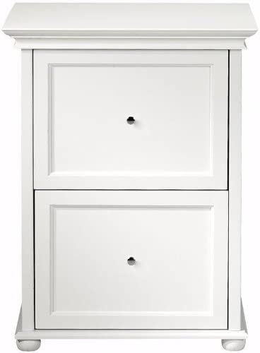 Amazon Com Home Decorators Collection White Two Drawer Wood File Cabinet Two Drawer White Furniture Decor