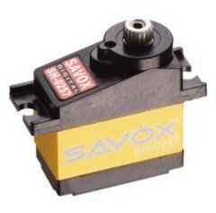 Savox Sh-0257mg Super Speed Metal Gear Micro Digital Servo from HRP Distributing, Inc.
