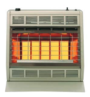 (Empire Infrared Heater Liquid Propane 30000 BTU, Manual Control 3 Settings)