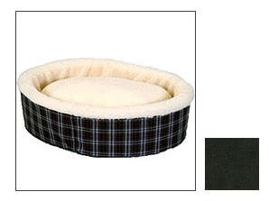 Snoozer Sheeper Hugger Pet Bed, Small With Black Fur, My Pet Supplies