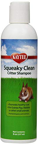 Kaytee Squeaky Clean Critter Shampoo 8-Ounce 2 Pack