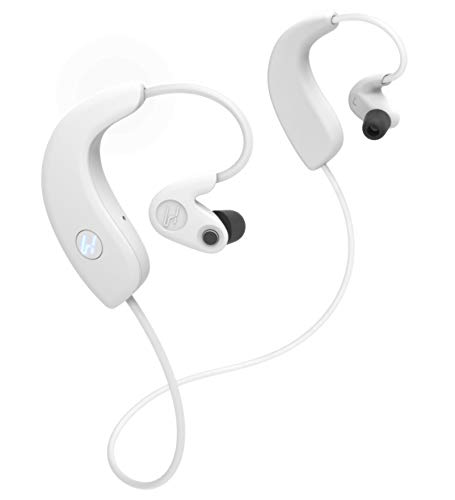 Hooke Verse - Bluetooth Headphones with Built in Binaural 3D Audio Microphones for Spatial VR Audio Recording and Playback (White)