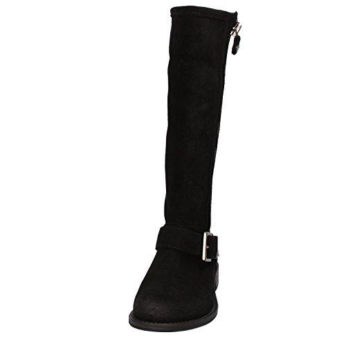 EU Black US Boots 36 Women's 6 TWIN Suede SET 7z0Z0x