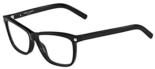 YVES SAINT LAURENT Eyeglasses SL 42 0807 Black 56MM