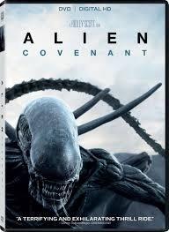 Alien  Covenant Dvd 2017