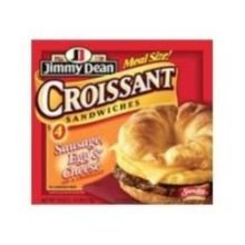 Jimmy Dean Sausage, Egg & Cheese Croissant Sandwiches (2 packs) , 9 oz., (8 -