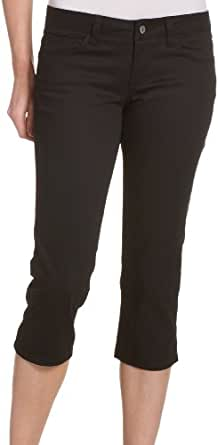 Dickies Juniors 5-Pocket Capri Pant,Black,15
