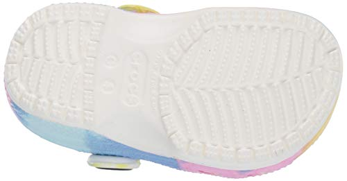 Crocs Kids' Classic Tie Dye Clog | Slip On Shoes for Boys and Girls