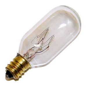 25 Watt T8 Candelabra Base Tubular Long Life Light Bulb