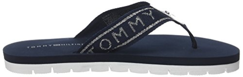 Tommy Flops Hilfiger Beach Flip Sandal Blue 403 midnight Women''s Essential Flexible wUgZqO6w