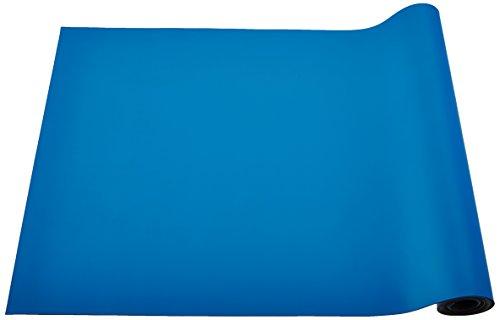 Bertech Rubber ESD Soldering Mat Roll, 2' Wide x 10' Long, Blue