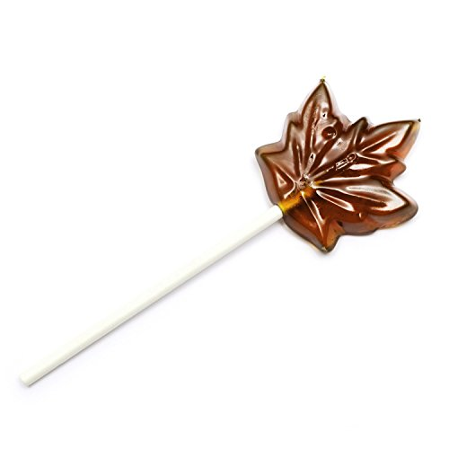 - Premium Canadian Maple Sugar Candy Lollipops Made with Pure Maple Syrup from Canada - Tristan Foods (12 lollipops)