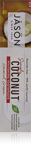 Jason Simply Coconut Whitening Toothpaste