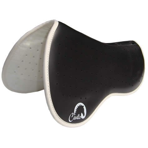 Cavallo English Raised Wither Saddle Pad Lifts the saddle at the wither to reestablish balance and correct position whilst allowing skeletal relief