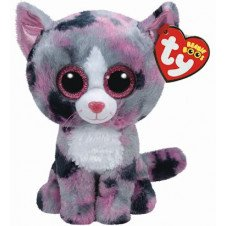 Ty Beanie Boos 6  Lindi The Cat  Perfect Plush