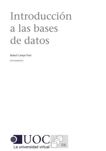 Introducción a las bases de datos (Spanish Edition)