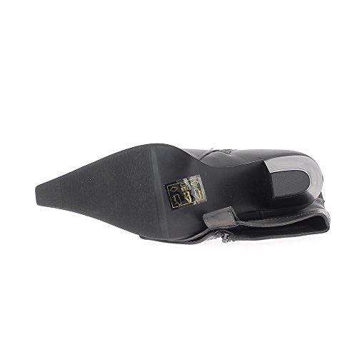 Botas de tacón mujer gris 6, 5cm occidental