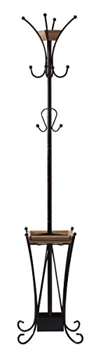 Artesa Coat Rack with Umbrella Stand and Removable Tray Antique Hat Rack