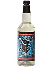 Top Hat Flavored Syrups - Zero Sugar - Make Cocktails at Home Bar - Works with SodaStream - 32oz Single Bottle