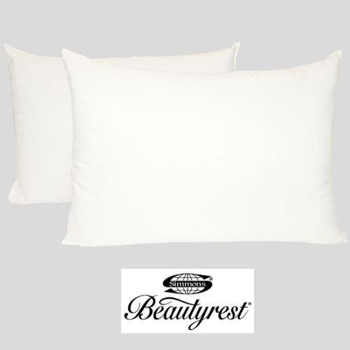 Simmons Beautyrest Classic 200 Thread Count Twin Pack Bed Pillows