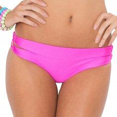 Luli Fama Women's Borrachera De Mar Zig Zag Open Side Full Bikini Bottom, Too Hot Miami, - Miami Women Hot