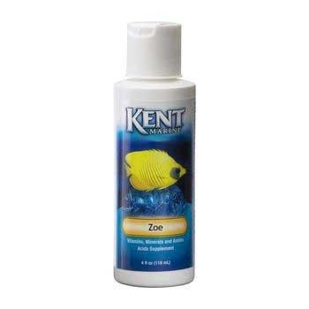 Kent Zoe Saltwater Vitamin 4oz - Kent Garden Water