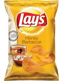 Frito Lay, Honey BBQ Potato Chips, 10oz Bag (Pack of 3)