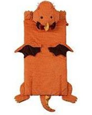 O3 WOMEN OWNED KID'S ANIMAL SLEEPING BAG (DRAGON, 27X56)