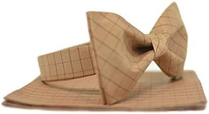Mule Ties Butterscotch Bow Tie