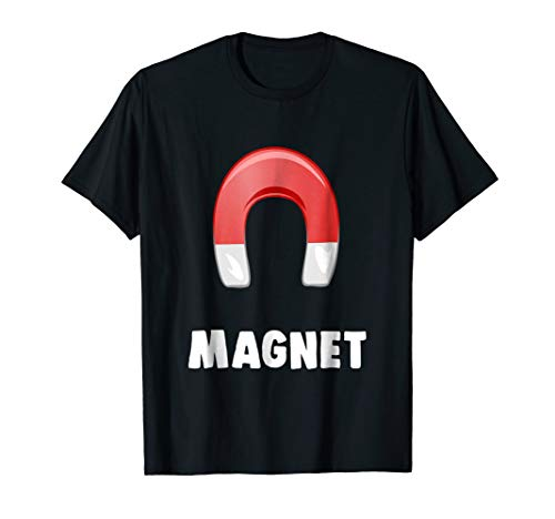 Magnet T-shirt Matching Halloween Costumes For Couples