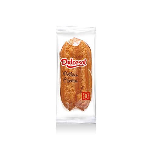 Pastel eclaire crema dulce - Petisú DULCESOL - Caja 1,5kg: Amazon.es: Alimentación y bebidas