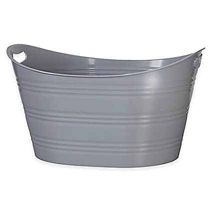 Delicieux Creative Bath™ Storage Tub In Grey