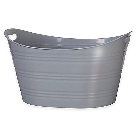 Creative Bath™ Storage Tub in Grey