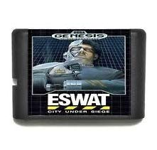 Taka Co 16 Bit Sega MD Game Eswat Cyber Police - City Under Siege - 16 bit MD Games Cartridge For MegaDrive Genesis console
