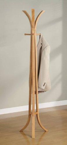 Oak Victorian Coat Rack - COATRACK,OAK/F 19
