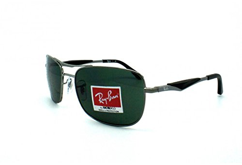 55e0ff89f8 Image Unavailable. Image not available for. Colour  Sunglasses Ray Ban RB  3515 Active Lifestyle Grey 004 71 58 17